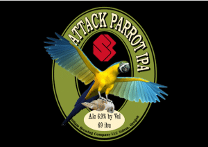 Attack Parrot IPA